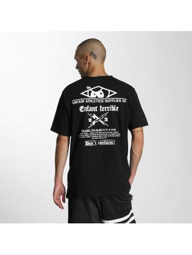 UNFAIR ATHLETICS Hombres Camiseta Enfant in negro