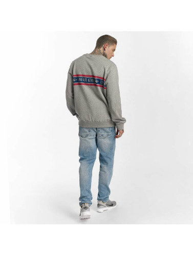 UNFAIR ATHLETICS Hombres Jersey Athl. Striped in gris