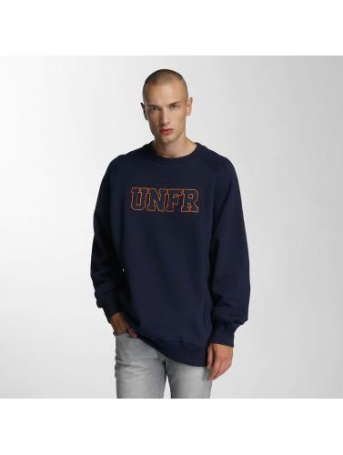 UNFAIR ATHLETICS Herren Pullover Logo in blau