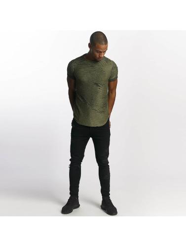 Uniplay Hombres Camiseta Diced in caqui