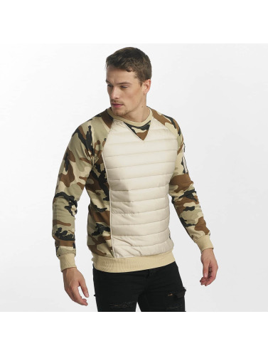 Uniplay Hombres Jersey Camo in beis