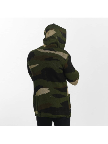 Uniplay Herren Strickjacke Vest in camouflage