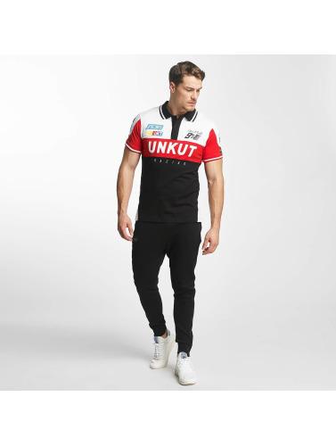 Unkut Hombres Camiseta polo Sprint in negro