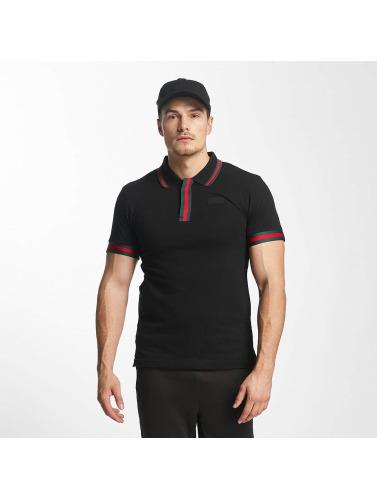 Unkut Hombres Camiseta polo Roma in negro
