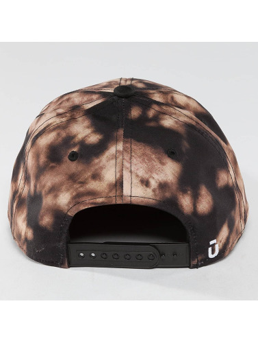 Unkut Snapback Cap Bleached in schwarz