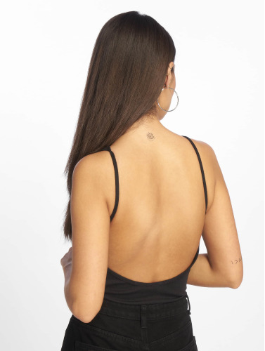 Urban Classics Mujeres Body Stretch Rib in negro