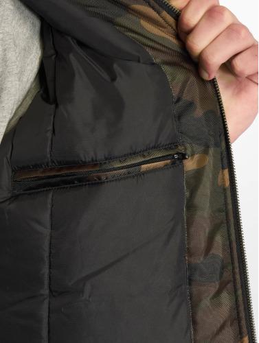 Urban Classics Herren Bomberjacke Camo Basic Bomber in camouflage