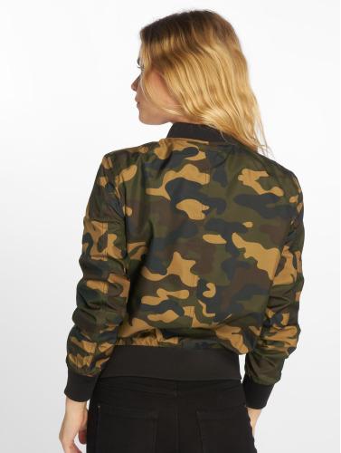 Urban Classics Damen Bomberjacke Ladies Light Camo in camouflage
