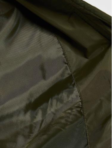 Urban Classics Damen Bomberjacke Diamond Quilt Short in olive