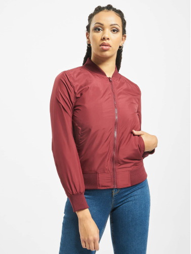 Urban Classics Damen Bomberjacke Light in rot