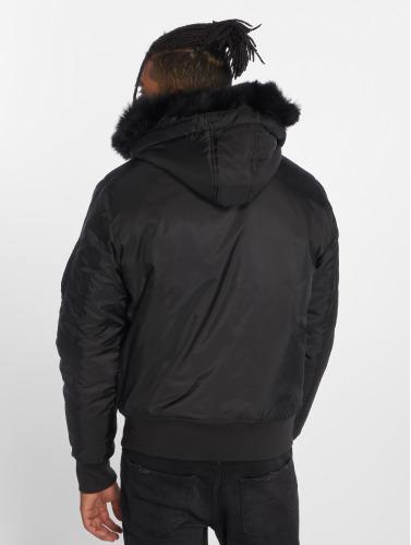 Urban Classics Herren Bomberjacke Hooded Basic in schwarz Günstig Kaufen Outlet Spielraum Ebay Angebote Günstig Online Auslass Offiziellen Große Überraschung Günstig Online pWBnZQ8Z