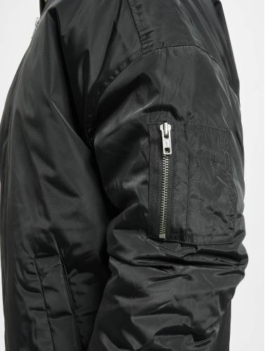 Urban Classics Herren Bomberjacke Oversized in schwarz