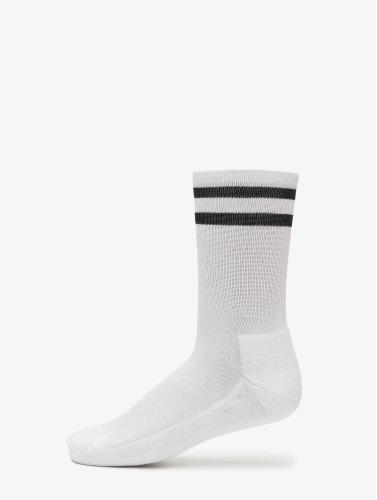 Urban Classics Calcetines 2-Pack Stripe Sport in blanco
