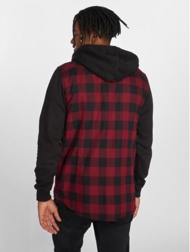 begrenset ny ser etter Urban Classics Hombres Camisa Hette Sjekket Flanell I Rojo 2015 nye OfwAQX