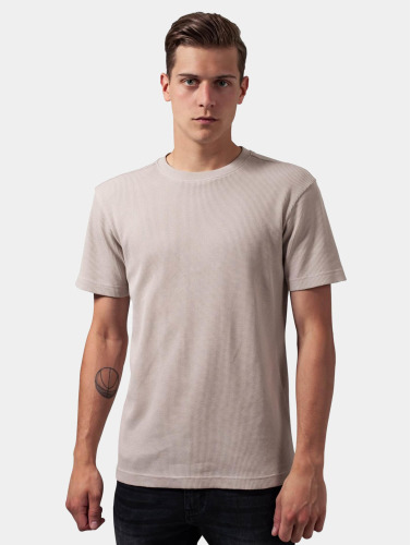 Urban Classics Hombres Camiseta Thermal in beis