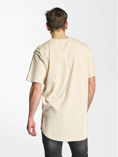 Urban Classics Hombres Camiseta Ripped in beis