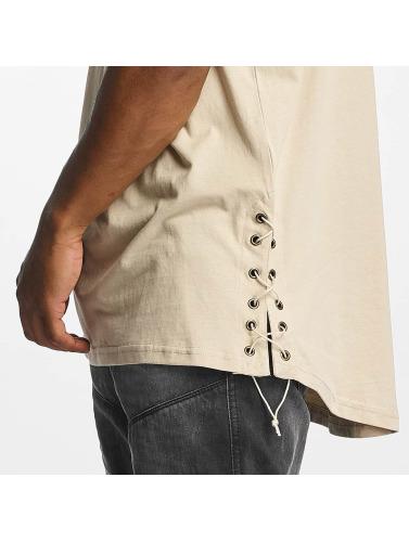 Urban Classics Hombres Camiseta Snøre På Lenge I Beis billig perfekt billig salg profesjonell virkelig billig pris kjapp levering mange typer online e32vyA