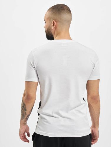 Urban Classics Hombres Camiseta Zig Zag in blanco