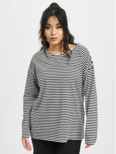 Urban Classics Mujeres Camiseta de manga larga Oversize in blanco