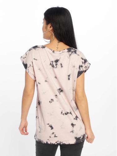 Urban Classics Mujeres Camiseta Batic Extended in fucsia