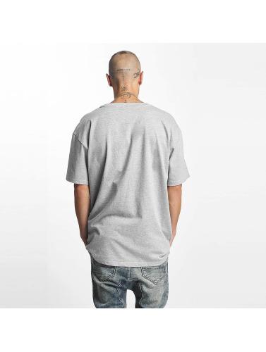 Urban Classics Hombres Camiseta Heavy Oversized in gris