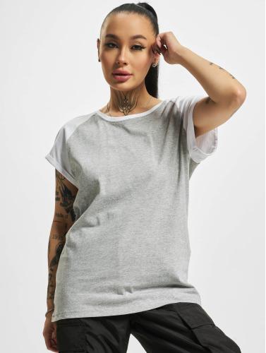gratis frakt utmerket billig salg engros-pris Urban Classics Mujeres Camiseta Kontrast I Gris kjøpe utløp kostnaden eHC2lO