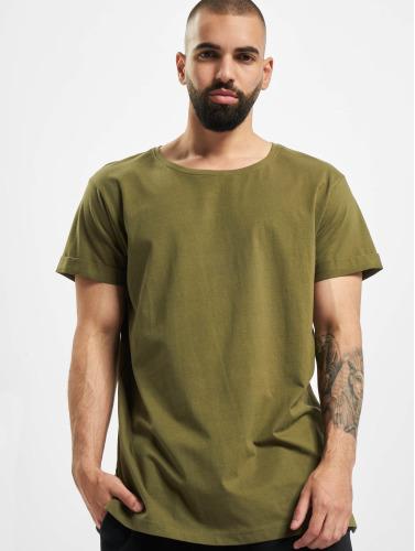 Urban Classics Hombres Camiseta Turnup I Oliva 2018 UcNCRFnwS