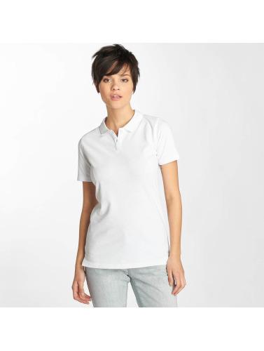 Urban Classics Kvinner Polo-skjorte I Hvit Vask Av salg lav pris RddGtr2qE