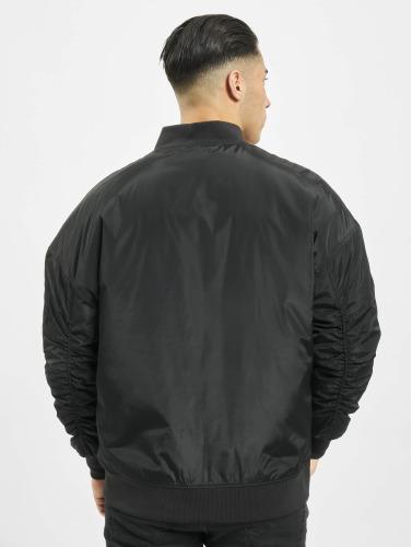 Urban Classics Hombres Cazadora bomber Oversized in negro