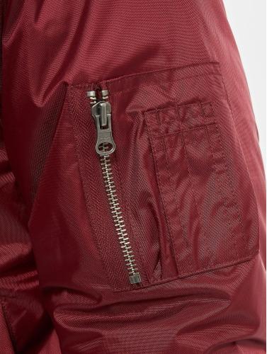 Urban Classics Hombres Cazadora bomber Basic in rojo