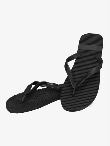 Urban Classics Chanclas / Sandalias Basic in negro