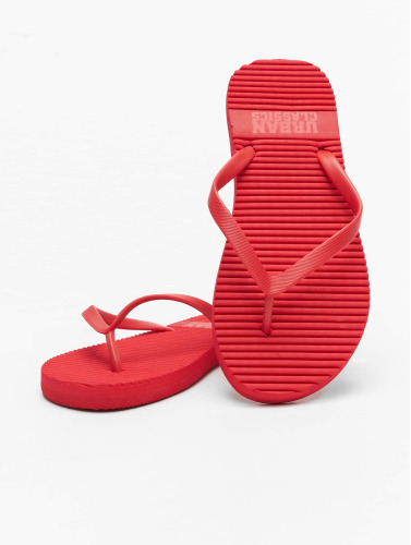 Urban Classics Chanclas / Sandalias Basic in rojo