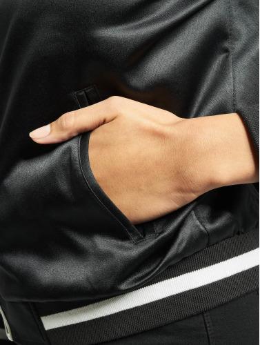 Urban Classics Mujeres Chaqueta de béisbol 3 Tone Souvenir in negro