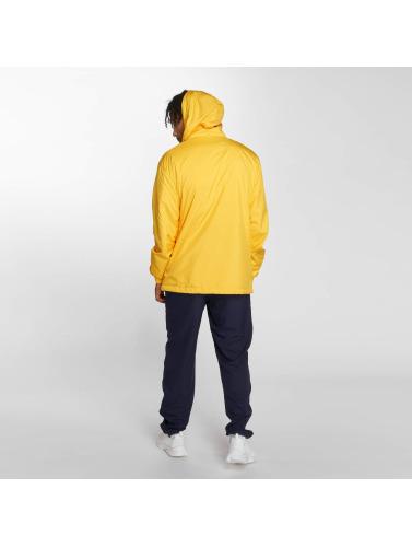 Urban Classics Hombres Chaqueta de entretiempo Basic in amarillo