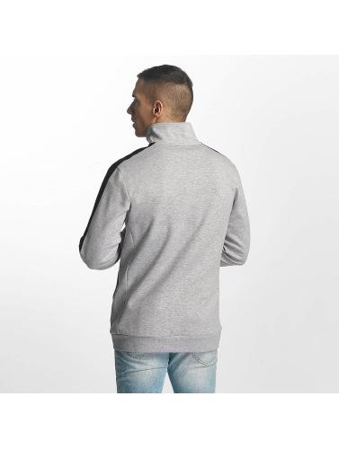 Urban Classics Hombres Chaqueta de entretiempo 2 Tone Interlock in gris
