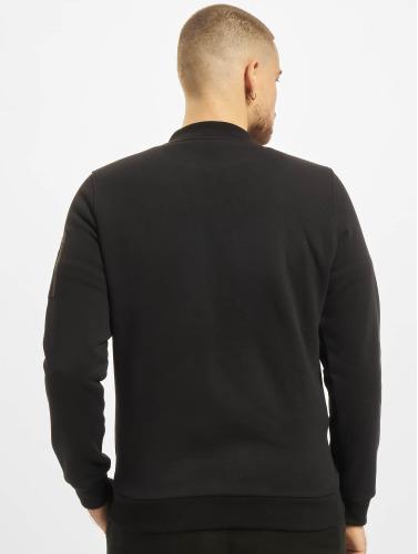 Urban Classics Hombres Chaqueta de entretiempo Sweat in negro