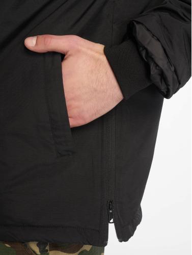Urban Classics Hombres Chaqueta de entretiempo Padded Pull in negro