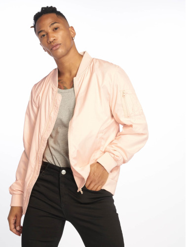 Urban Classics Hombres Chaqueta de entretiempo Light in rosa
