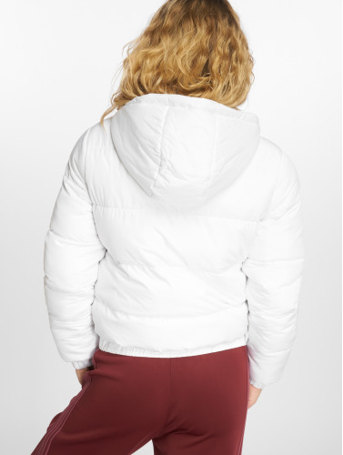 Puffer blanco acolchadas Mujeres Classics Urban Chaquetas Hooded in UfXqtn