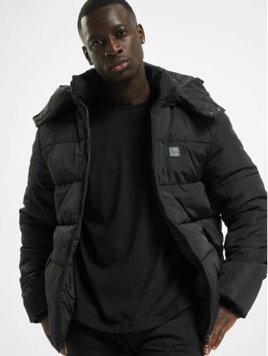 Urban Classics Hombres Chaquetas acolchadas Hooded Puffer in negro