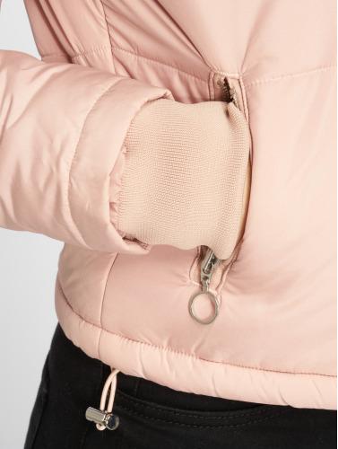 Urban Classics Mujeres Chaquetas acolchadas Oversized High Neck in rosa