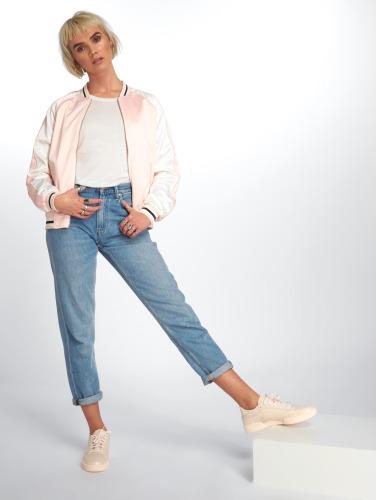 Urban Classics Damen College Jacke 3 Tone Souvenir in rosa