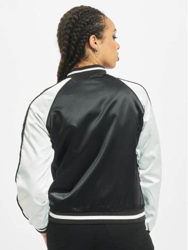 Original-Verkauf Urban Classics Damen College Jacke 3 Tone Souvenir in schwarz Kaufen Zum Verkauf jJPcQadLn