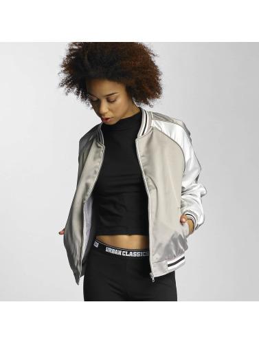 Urban Classics Damen College Jacke 3 Tone Souvenir in silberfarben Billig Verkauf Countdown-Paket Freiraum Suchen Limitierte Auflage Online-Verkauf Verkauf Empfehlen u3EDj