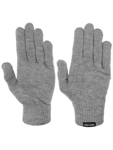 Urban Classics Handschuhe Knitted in grau