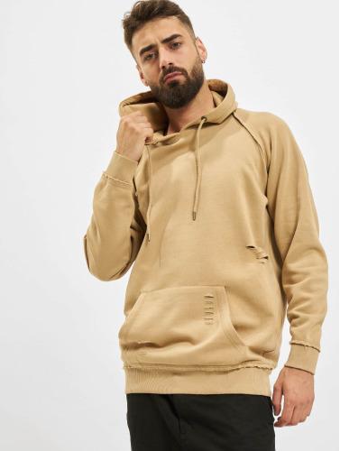 Urban Classics Herren Hoody Ripped Raglan in beige