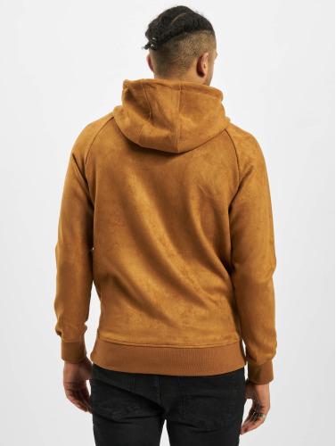 Offizieller Online-Verkauf Verkauf Offizielle Seite Urban Classics Herren Hoody Imitation Suede in braun Gut Verkaufen USUXMQ