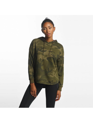 Urban Classics Damen Hoody Oversized Camo in camouflage