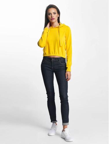 Shop-Angebot Zum Verkauf Billiger Großhandel Urban Classics Damen Hoody Interlock in gelb Spielraum Klassisch mJ3F7u