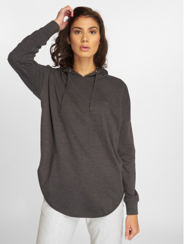 Urban Classics Damen Hoody Ladies Oversized Terry in grau